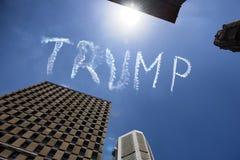 Trunfo no céu sobre Sydney - Austrália Fotografia de Stock