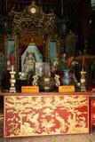 Trung Hoa świątynia Wietnam (4) - Hoi - Obraz Royalty Free