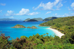 Trunk Bay 2. Tropical bay Stock Photography