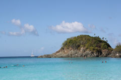 Trunk Bay Beach, St. John, USVI Royalty Free Stock Image