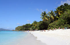 Trunk Bay Beach, St. John, USVI Stock Photo