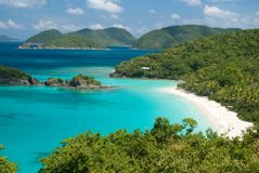Trunk Bay - St John Royalty Free Stock Images