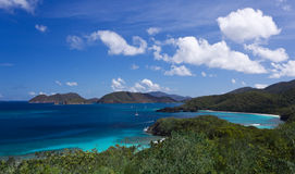 Trunk Bay on St John Stock Photography
