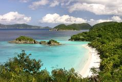 Trunk Bay, St. John Royalty Free Stock Photos