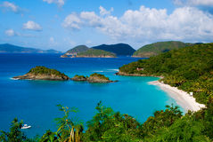Trunk Bay, St John Stock Image