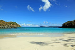 Trunk Bay in St John Royalty Free Stock Images