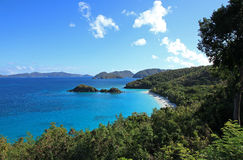 Trunk Bay in St John Stock Photo