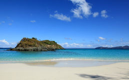 Trunk Bay in St John. U.S. Virgin Islands Royalty Free Stock Images