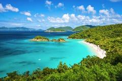 Trunk Bay St John. Trunk Bay, St John, United States Virgin Islands Stock Photography