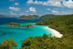 Trunk Bay St John - USVI Stock Photography