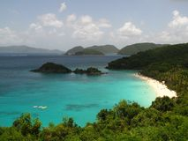 Trunk Bay St. John USVI Caribbean beach royalty free stock photos