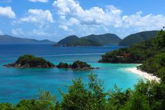 Trunk Bay St. John USVI royalty free stock photos