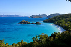 Trunk Bay, USVI Stock Photography