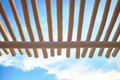 Trunk Canopy Structure stock image