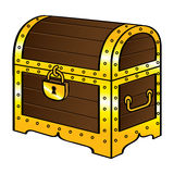 Trunk chest stock illustration