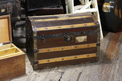 Trunk chest Stock Photo