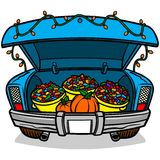 Trunk Or Treat Royalty Free Stock Photos