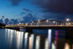 Truong Tien Bridge Hue fotografia de stock