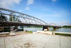 Truong Tien bridge in Hue,Vietnam Stock Image
