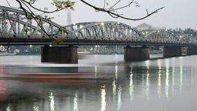 Truong Tien Bridge, Hue, Vietnam, Viet Nam Royalty Free Stock Image