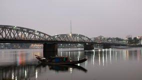 Truong Tien Bridge, Hue, Vietnam, Viet Nam Royalty Free Stock Photo