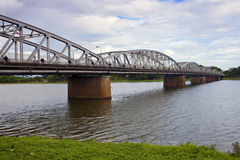 The Truong Tien bridge Royalty Free Stock Photo