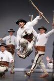 Trupe nacional da dança de Poland - Mazowsze Foto de Stock Royalty Free