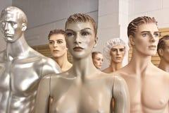 Truppa Assorted del Mannequin immagini stock