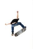 Truque do skate Fotografia de Stock Royalty Free