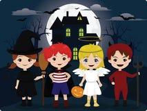 Truque ou deleite de Halloween Fotos de Stock