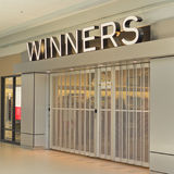 Winners Storefront Royalty Free Stock Image