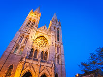 Truro Cathedral Cornwall England Stock Image