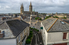 Truro Cathedral in Cornwall england uk Royalty Free Stock Image
