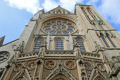 Truro Cathedral, Cornwall Stock Photo