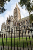 Truro Cathedral in cornwall uk England Stock Photo