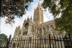 Truro Cathedral in cornwall uk England Stock Photos