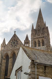 Truro Cathedral in cornwall uk England Stock Photography