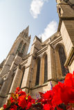 Truro Cathedral in cornwall uk England Stock Images