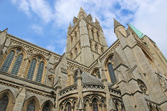 Truro Cathedral. Exterior of Truro Cathedral, Cornwall Stock Image