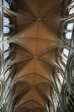 Truro Catherdral vaulted ceiling Stock Photos