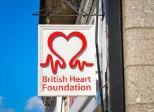 British Heart Foundation stock image