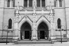 Truro katedry wejście Fotografia Royalty Free