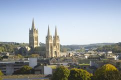 Truro-Kathedrale, Cornwall, England Lizenzfreies Stockfoto