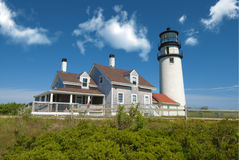Truro lighthouse, Cape Cod, MA, USA Stock Photography