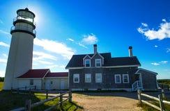 Truro Lighthouse, Truro, MA. Stock Image