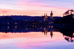 Truro From Malpas Royalty Free Stock Image
