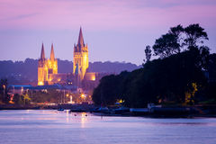 Truro From Malpas Royalty Free Stock Images