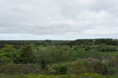 Truro, Massachusetts near the Highland Lighthouse stock photos
