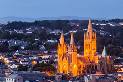 Truro at night Royalty Free Stock Photography