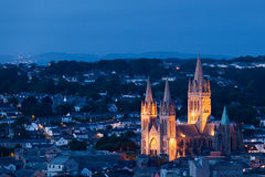 Truro at night Royalty Free Stock Images